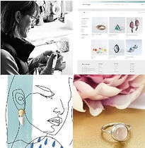 How to create and brand and a website that reflects your work as a Jeweller