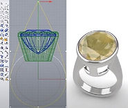 CAD Rhino course_Bezel Setting Ring_ The