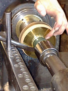 Learn hw to use a lathe to spin silver