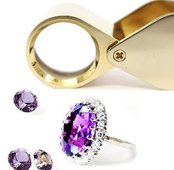 online course how to identify the difference between a Gem stone and a glass stone. Designed to help Vintage Jewellery buyers.ng?