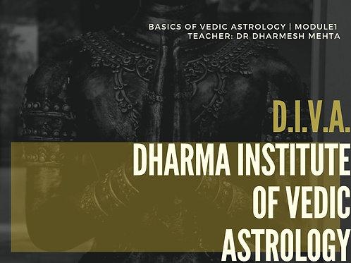 Module 1 | Basics of Vedic Astrology