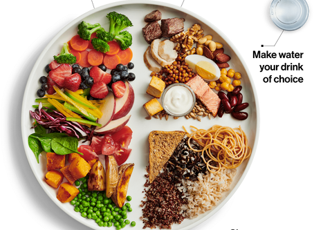 What does Canada's new Food Guide say about dental health?