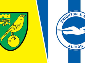Brighton to edge Canaries in must-win match