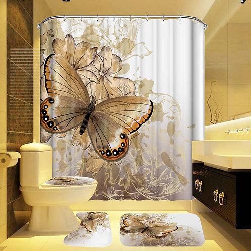 Butterfly Bathroom Set
