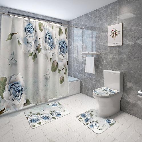 Floral Europe Style Bathroom Set