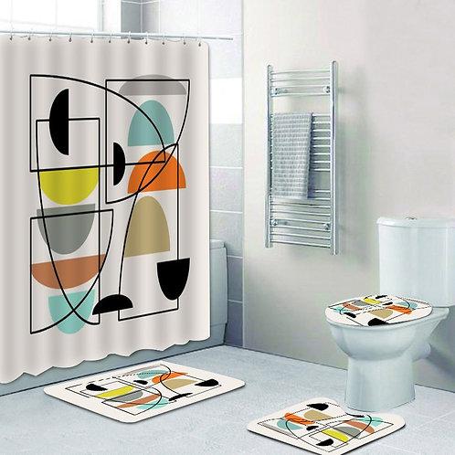 Retro Bathroom Set