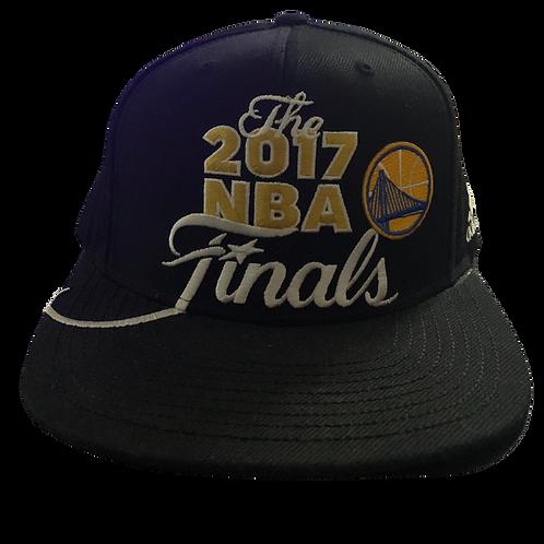 Warriors - Black 2017 NBA Finals - Snapback