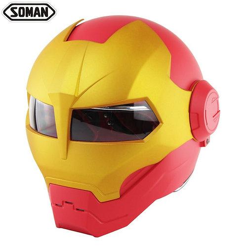 Iron Man Racing Helmet - Mulitple Colors