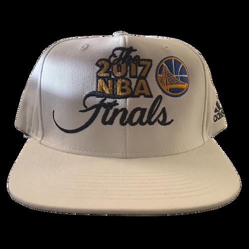 Warriors - White 2017 NBA Finals - Snapback
