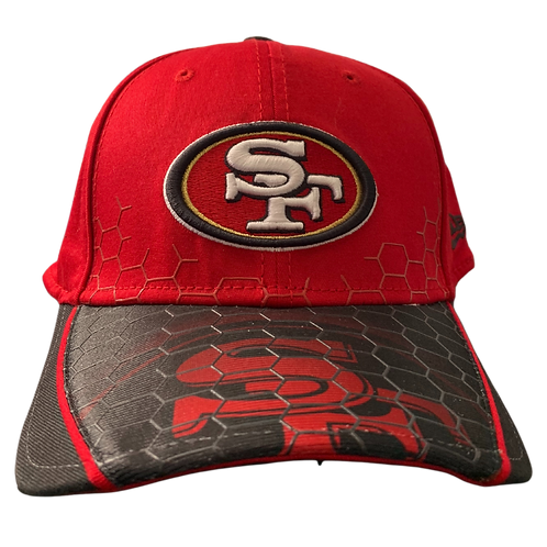 49ers - Red/ Black 2 - Sport Hat
