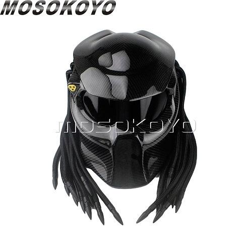 Predator Carbon Fiber Full Face Helmet
