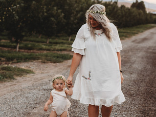 Lauren & Violet | Apple Orchard