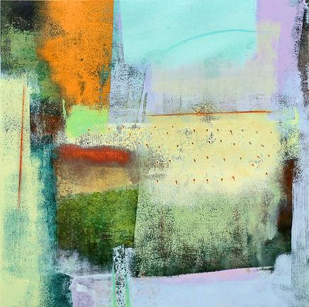 Dunloe II  18_ x 18_ acrylic on panel (B