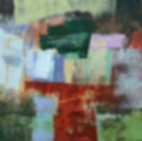 Dunloe I 18_ x 18_ acrylic on panel (B9b