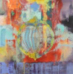 Vanitas  36_ x 36_  acrylic on panel .jp