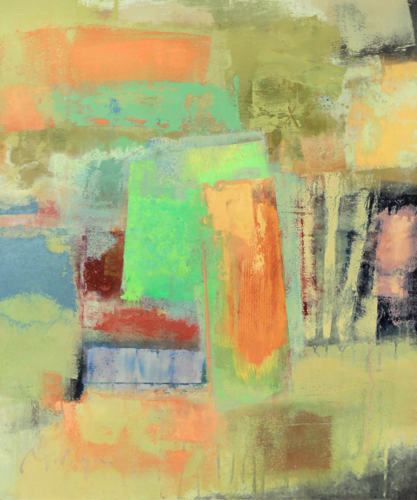 DeRoselli VII  24_ x 20_ acrylic on pane
