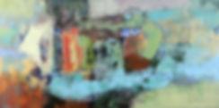 Toward Granite Falls. 36_ x 72_  acrylic