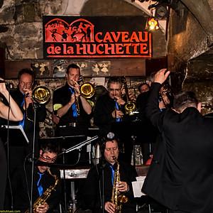 Philippe Crestée Big Band - Caveau de la Huchette
