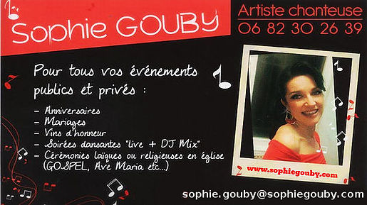 www.sophiegouby.com - Chanteuse Normandie