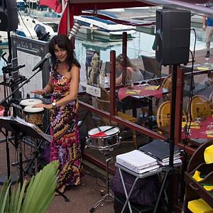 Concert Restaurant La Voile rouge à Port Guillaume