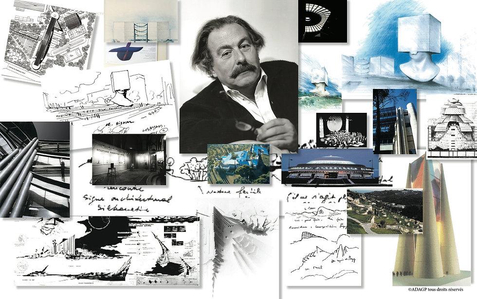 Yves Bayard architecte Nice, BMVR Tête Carrée Sosno, Promenade des Arts, Mamac, Théâtre National Nice, urbaniste Sophia Antipolis
