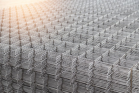 Wire mesh steel for reinforcing concrete