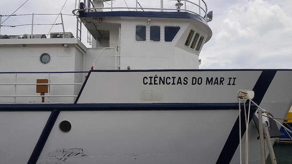 """Navio """"Ciências do Mar II"""" é o segundo laboratório de ensino flutuante em operação no Brasil"""