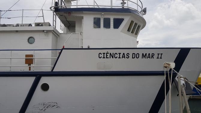 INSTITUTO DE CIÊNCIAS DO MAR DA UNIVERSIDADE FEDERAL DO MARANHÃO AGUARDA PARA JULHO O NAVIO LABORATÓ