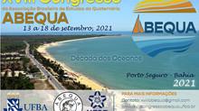 AOCEANO APOIA A REALIZAÇÃO DO XVIII CONGRESSO DA ABEQUA - ASSOCIAÇÃO BRASILEIRA DE ESTUDOS DO QUATER