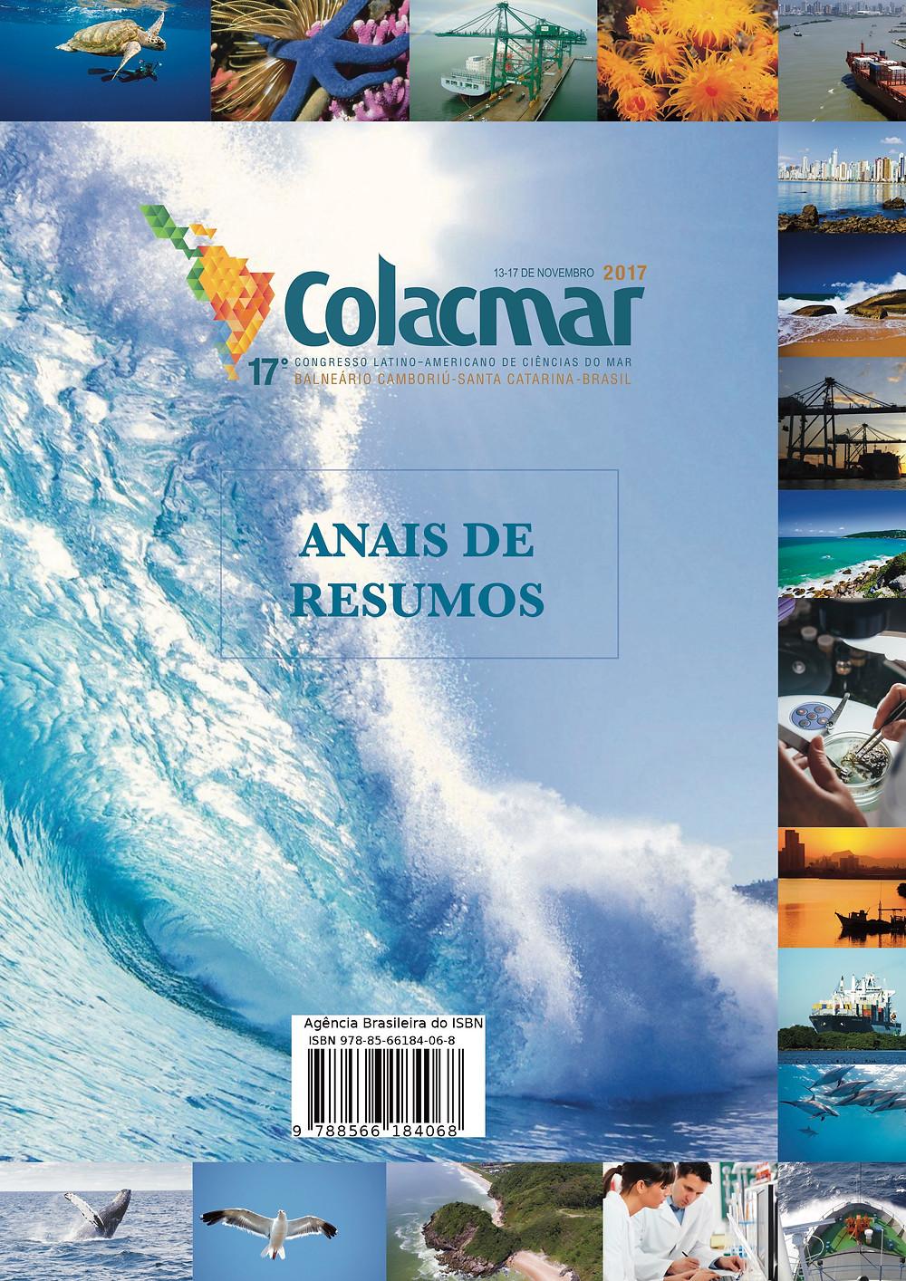 Publicação reúne os trabalhos apresentados no COLACMAR'2017