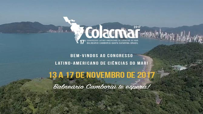 ANOTE NA SUA AGENDA: DE 13 A 17 DE NOVEMBRO DE 2017 SERÁ REALIZADO O 17º CONGRESSO LATINO-AMERICANO