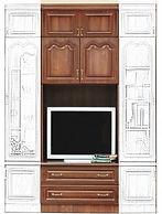 купить, недорого, корпусная мебель, модульная стенка, мебельная стенка, спб