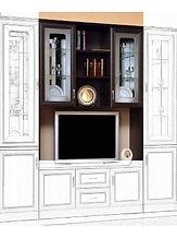 купить, недрого, спб, мебельная стнка, гостиная