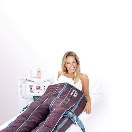 Cellulite Behandlung im Slimyonik Anzug