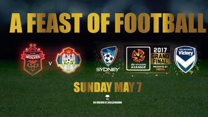 Example - Feast of Football with Wollongong Wolves!