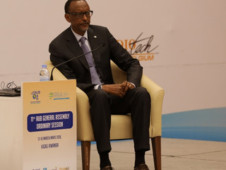AUB President's Welcome message to HE Paul Kagame