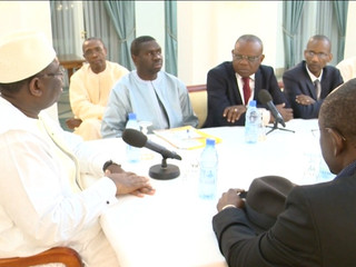 The President of the Republic of Senegal receives the African Union of Broadcasting (AUB) Delegation