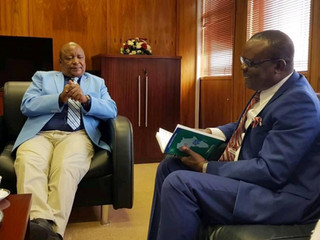 AUB CEO round trip in sub-saharan Africa
