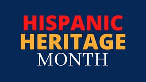 Hispanic Heritage Month Celebration!