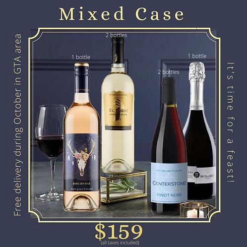 | Mixed Case | 1 case (6 bottles)