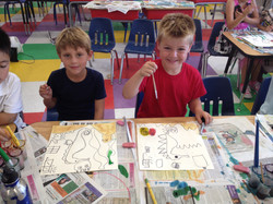 Young Artists at Work!