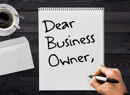 Dear Business Owner: Running a Business is HARD!