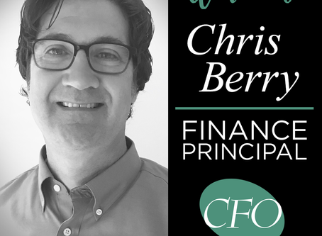 CFO Network Welcomes New Finance Principal, Christopher Berry, Former Sr. Finance Manager of Tyson