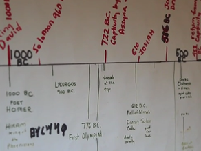 Kid-Created Timelines