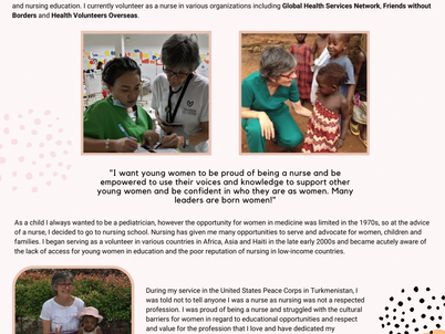 Martha Tanicala- Women in Healthcare
