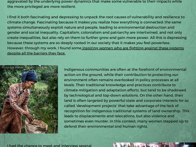 Camille Pross - Women in Sustainability