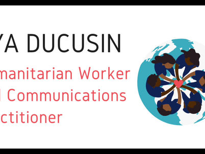 Rya Ducusin- Women in Humanitarian Contexts