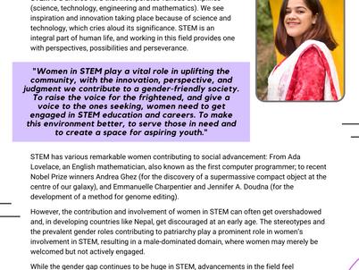 Smritee Neupane-  Women in STEM
