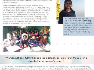 Sita Bashyal- Women in Law