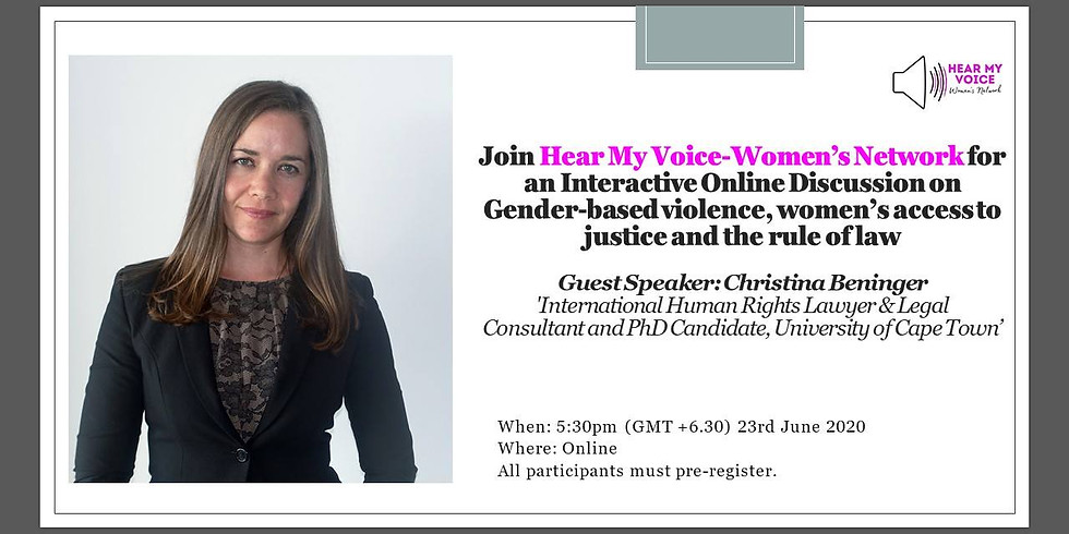 Women's access to justice and the rule of law